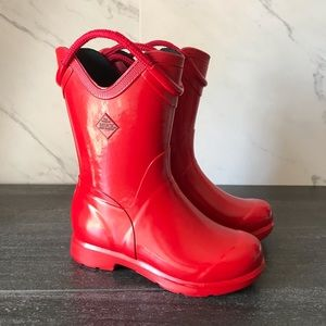 The Original Muck Boot Company Red Rain Boots